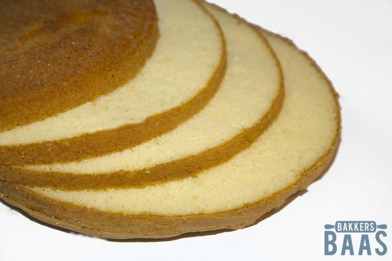 kapsel taart Kapsel biscuitbeslag   BakkersBaas kapsel taart