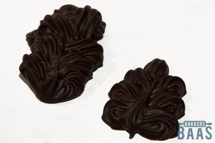 Eikenblaadjes chocolade